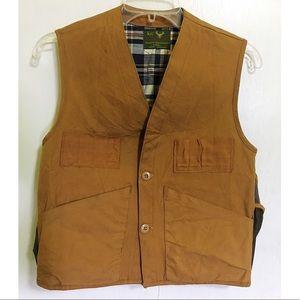 Water Repellant Canvas Vest